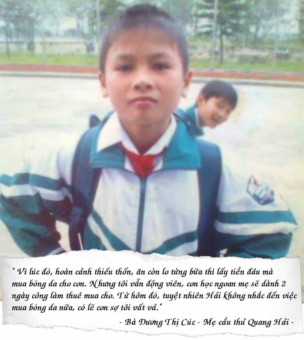 Nguyen Quang Hai - tu cau be gay go nhut nhat den doi truong U23 viet nam 1