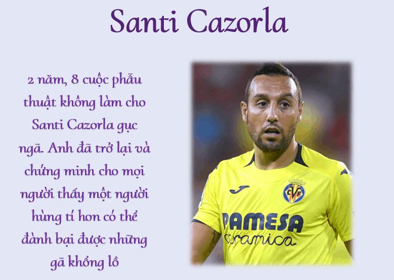Santi Cazorla – Người hùng tí hon trở lại