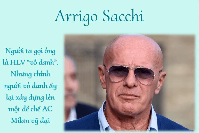 Arrigo Sacchi – Từ nhân viên bán giày đến ông vua của AC Milan